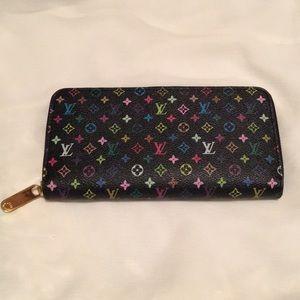 Louis Vuitton Multicolored Monogram Wallet